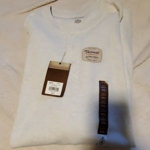 Henley extra soft thermal top